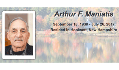 Arthur Maniatis has passed away