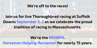 We're off to the races!!